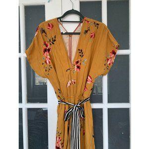 Anthropologie CoreyLynnCarter Floral Jumpsuit